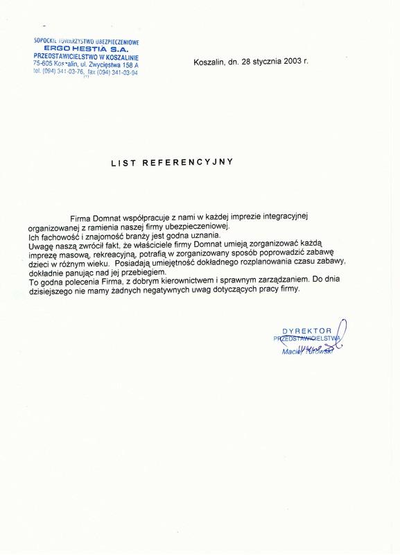 STU Ergo Hestia SA, Dyrektor Przedstawicielstwa Maciej Turowski