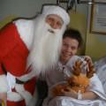 Z wizytą na oddziałach dziecięcych w szpitalu